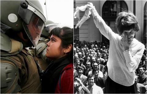 20 ярких и эмоциональных фотографий, на которых запечатлены женщины участницы протестов в разных уголках мира
