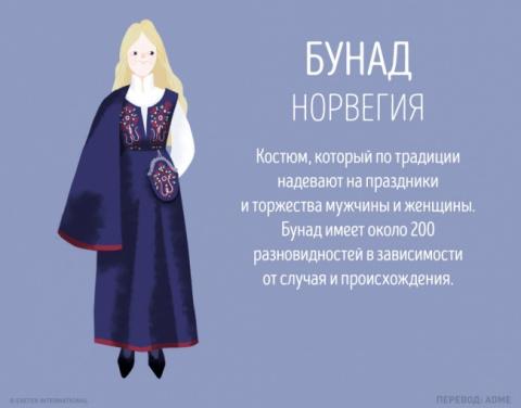 15 неожиданных традиций в одежде народов мира