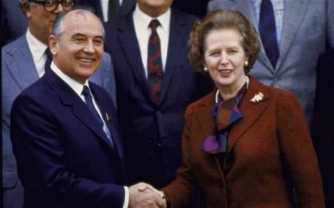 Доклад Маргарет Тэтчер о развале СССР. США, Хьюстон, 11.1991