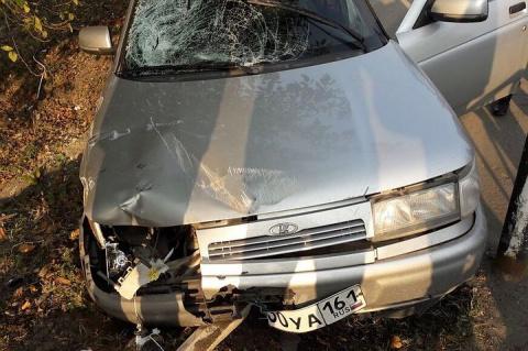 Водитель «десятки» сбил инспектора и порезал двух его коллег на посту в Ингушетии