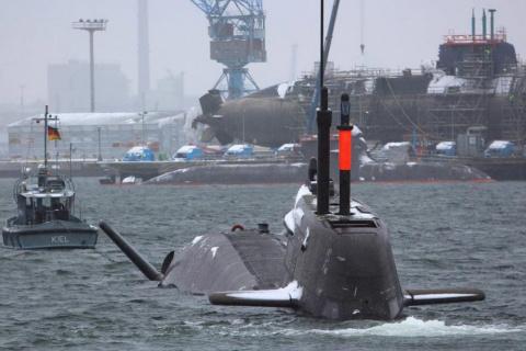 Военный флот Германии осталс…