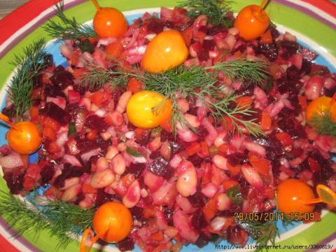 Винегрет. Праздничный салат Гост и вариации на тему