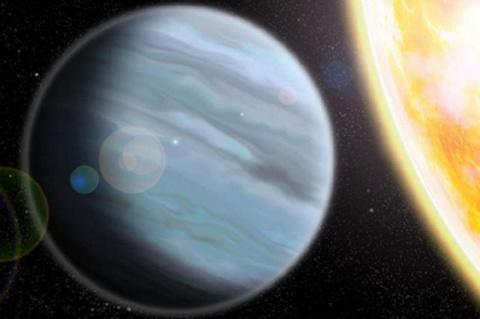 Найдена загадочная «планета-пенопласт»