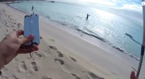 Как поймать рыбу на iPhone