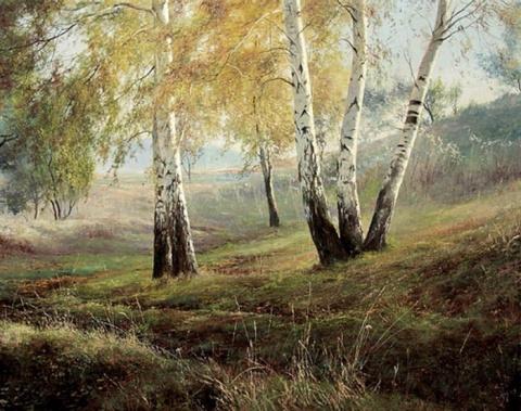 Незабываемые русские пейзажи современного художника Юрия Клапоуха