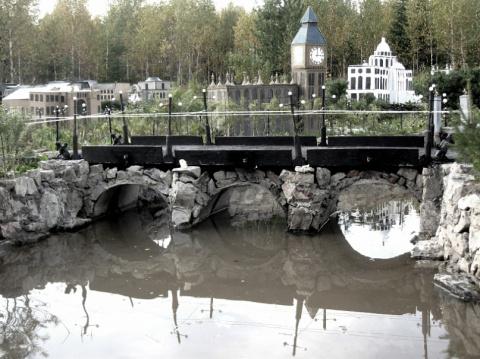 Миниатюра: мой город на даче (фото)