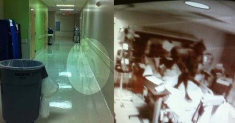 Жуткие и загадочные снимки, сделанные в больницах