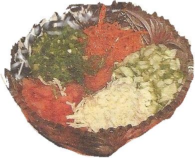 и корейской морковью