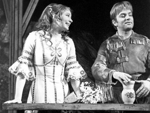 Державин скрывал от всех жён роман с Татьяной Васильевой