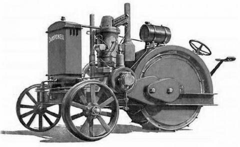 Первый советский трактор!