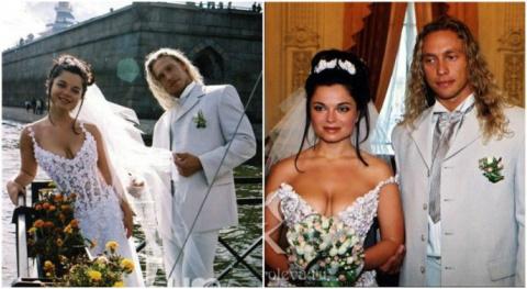 Кадры со свадеб российских звёзд, которые вы точно еще не видели