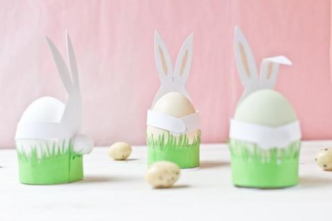 САМОДЕЛКИ. Кролик для пасхального яйца