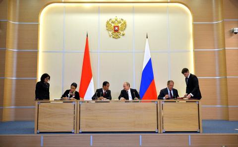 Российско-индонезийские переговоры