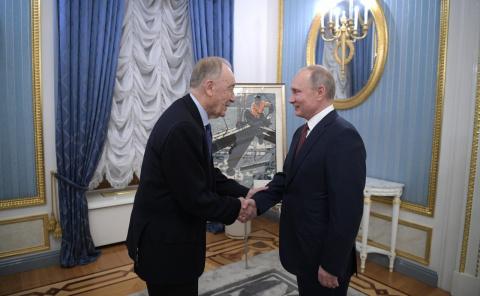 Встреча с Родионом Щедриным
