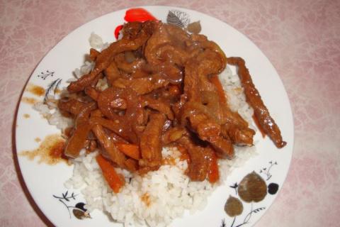Острое мясо по-китайски