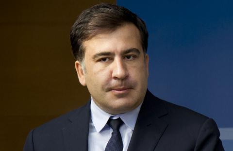 Саакашвили возле Рады расска…