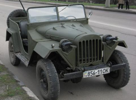 Советский внедорожник второго поколения ГАЗ-67