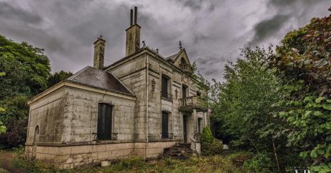 Дом, где время остановилось — заброшенный особняк во французской глубинке