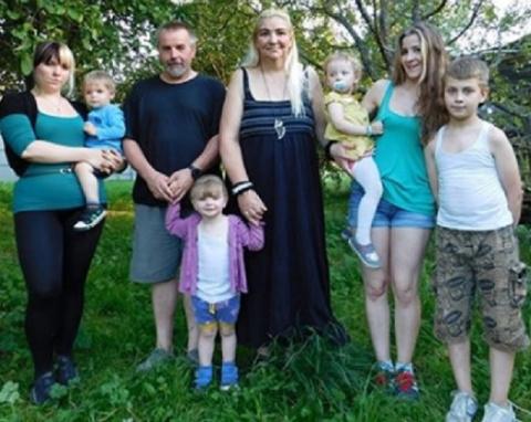 Русская семья из Германии пр…