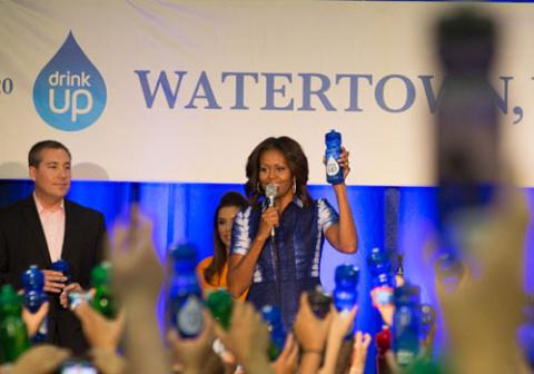 Мишель Обама снялась в рекламе