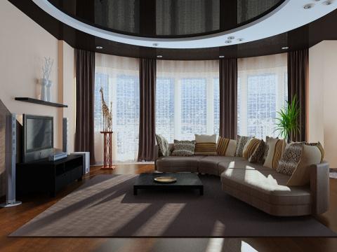 50 вариантов интерьера гостиной