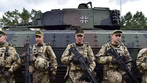 Newsweek Polska: в Литву возвращаются нацисты — немецкие военнослужащие