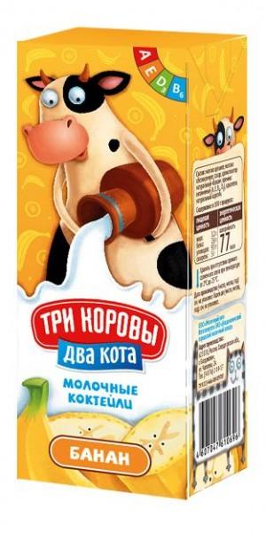 Развеселая упаковка молочных коктейлей порадует детей