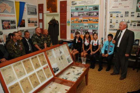 Музей Криворізької загальноосвітньої школи № 114 відзначив своє 30-річчя