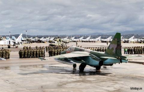 Российские летчики вернулись…