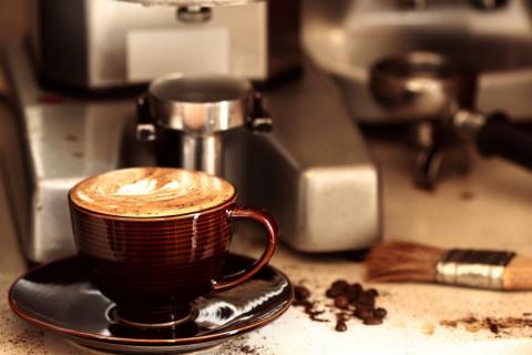 Моё знакомство с кофемашиной