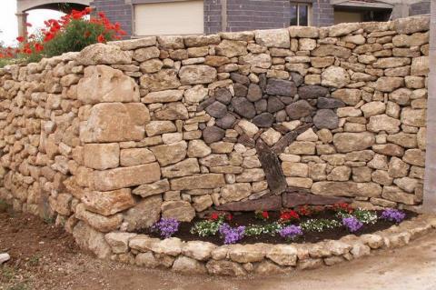 САД, ЦВЕТНИК И ОГОРОД / ДАЧА. Примеры использования камней в ландшафтном дизайне