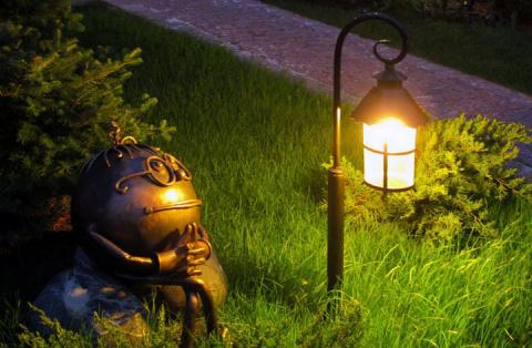 Вся правда о садовых фонариках