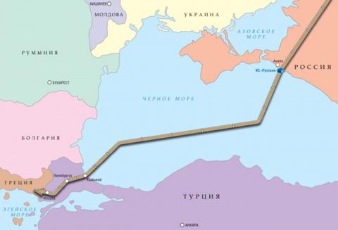 """""""Газпром"""" построит """"Турецкий поток"""" за свой счет?"""