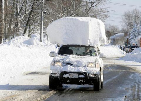 Русская Зима - курепляем крыши