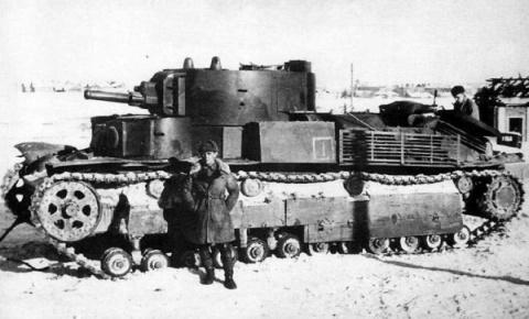 Один танк Т-28 против гитлер…