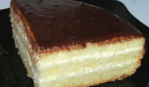 Бисквитный торт «Чародейка».…