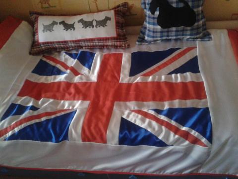 Gallery.ru / покрывало ( флаг Великобритании) - немного рукоделия - Loi.