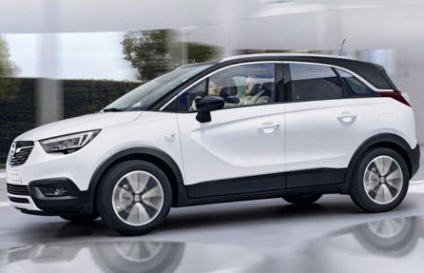 Представлен Opel Сrossland X
