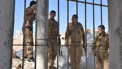 ВС Турции нанесли удары по позициям сирийских курдов в районе Африна