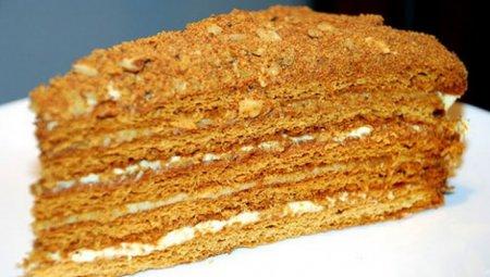 Торт «Медовик» - ароматные к…