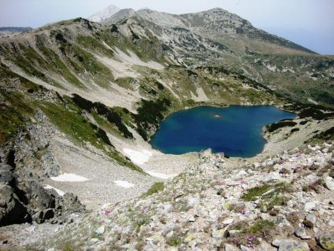 Высокогорные озера в Пирин.