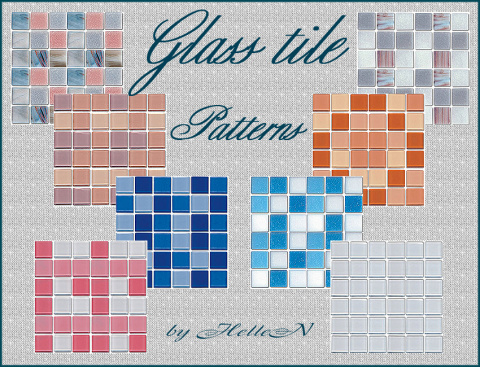 Glass Tiles by HelleN
