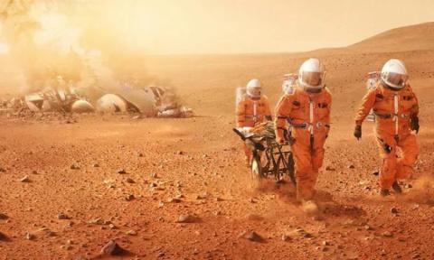 А. Степанов. Первые колонисты Марса вымирают!