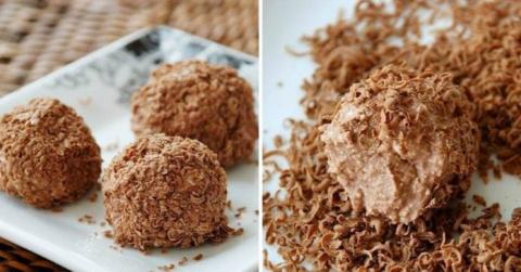 Творожные шарики с печеньем:…