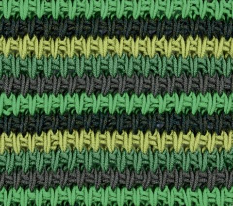 Разноцветный структурный узо…