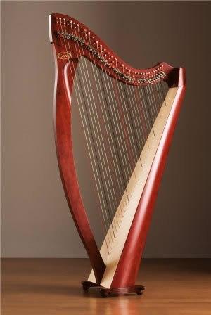 День музыкальных инструментов. Арфа