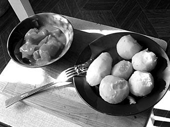 Картофельное пюре по-итальянски и немного о картофеле.