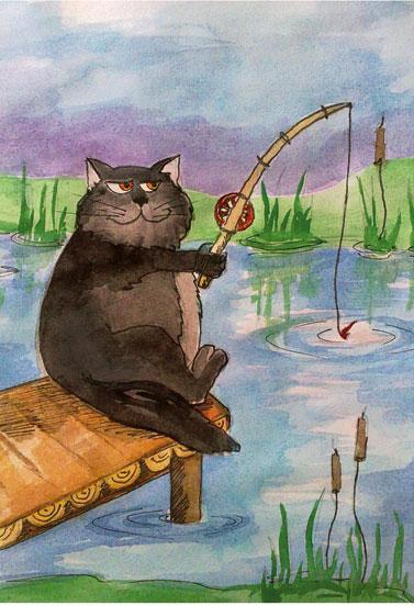 Коты-рыболовы