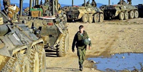 Русские десантники выгнали спецназ США из Сирии