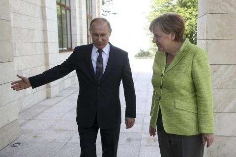 Ангела Меркель и что её бесп…